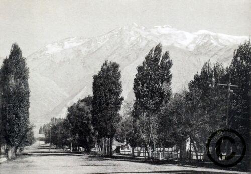 "Seventh Street/"" in 1901 Reprint Vintage Photography UTAH /""Twenty OGDEN"