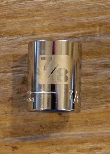 "1//2/"" DRIVE 12PT STANDARD CHROME SOCKET REPLACEMENT CRAFTSMAN G2D-34654-7//8/"""