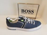 Hugo Boss Green - Men's Sneakers ray Adv Tenn In 401 Dk Blue