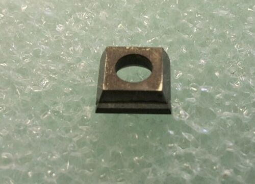 "DIAMOND TIPPED INSERTS 10PC CH-4559 CBN .333/"" SQ. X .117/"" THK X .160/"" HOLE"