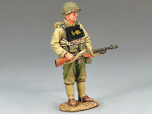 King & Country Dd128 Artilleur de barre debout Mib