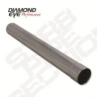Diamond Eye 405040 Straight Pipe, 5 I.d. X 5 O.d. X 40 Long, Aluminized