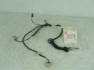 99-2002 SUBARU FORESTER LEFT DRIVER REAR BACK DOOR WIRE WIRING HARNESS CABLE OEM