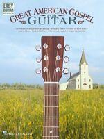 Great American Gospel For Guitar Sheet Music Easy Guitar 000702148