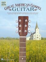 Great American Gospel For Guitar Sheet Music Easy Guitar 000702148