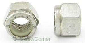 4pcs 1//2-13 UNC Fil acier Inox type 304 fix /écrou hex ton argent
