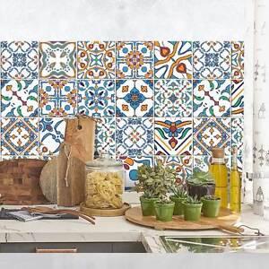 PS00088 Adesivi murali in pvc per piastrelle per bagno e cucina ...