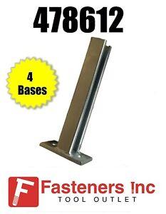 4 X For UNISTRUT 41x41 Window Bracket For Steel Beam Purlins