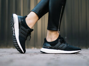 5cfd3c663 Image is loading Adidas-UltraBOOST-S80682-Black-Women-039-s-Running-