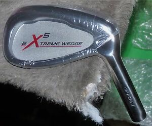 Extreme-5-Tour-Grind-Offset-Wedge-New-w-Steel-Shaft-Choice-of-Gap-Sand-Lob