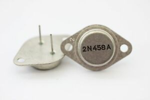 2N458A TRANSISTOR NOS ( New Old Stock ) 1PC. C260U9F160414