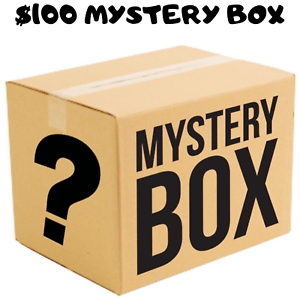 100 Rrp Mystery Box Set Of Assorted Lucky Dip Random Products Ebay