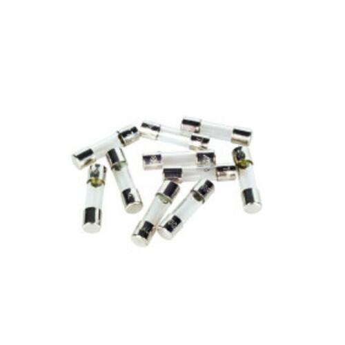 10 x f500ma quick blow glass fuse 20 x 5mm 250v