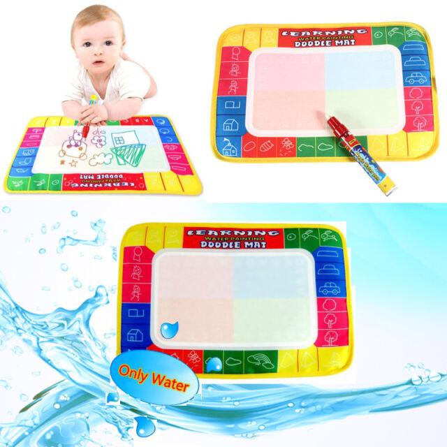 Toys Water Drawing Painting Writing Mat Board & Magic Pens Doodle Games CBCA