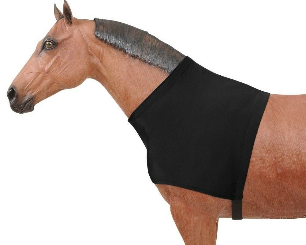 Horse Shoulder Guard - Nylon Spandex - Predects against Hair Lose (S,M,L)