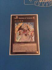 1x Secret Rare Tiras, Keeper Of Genesis GENF-EN044 1st Edition
