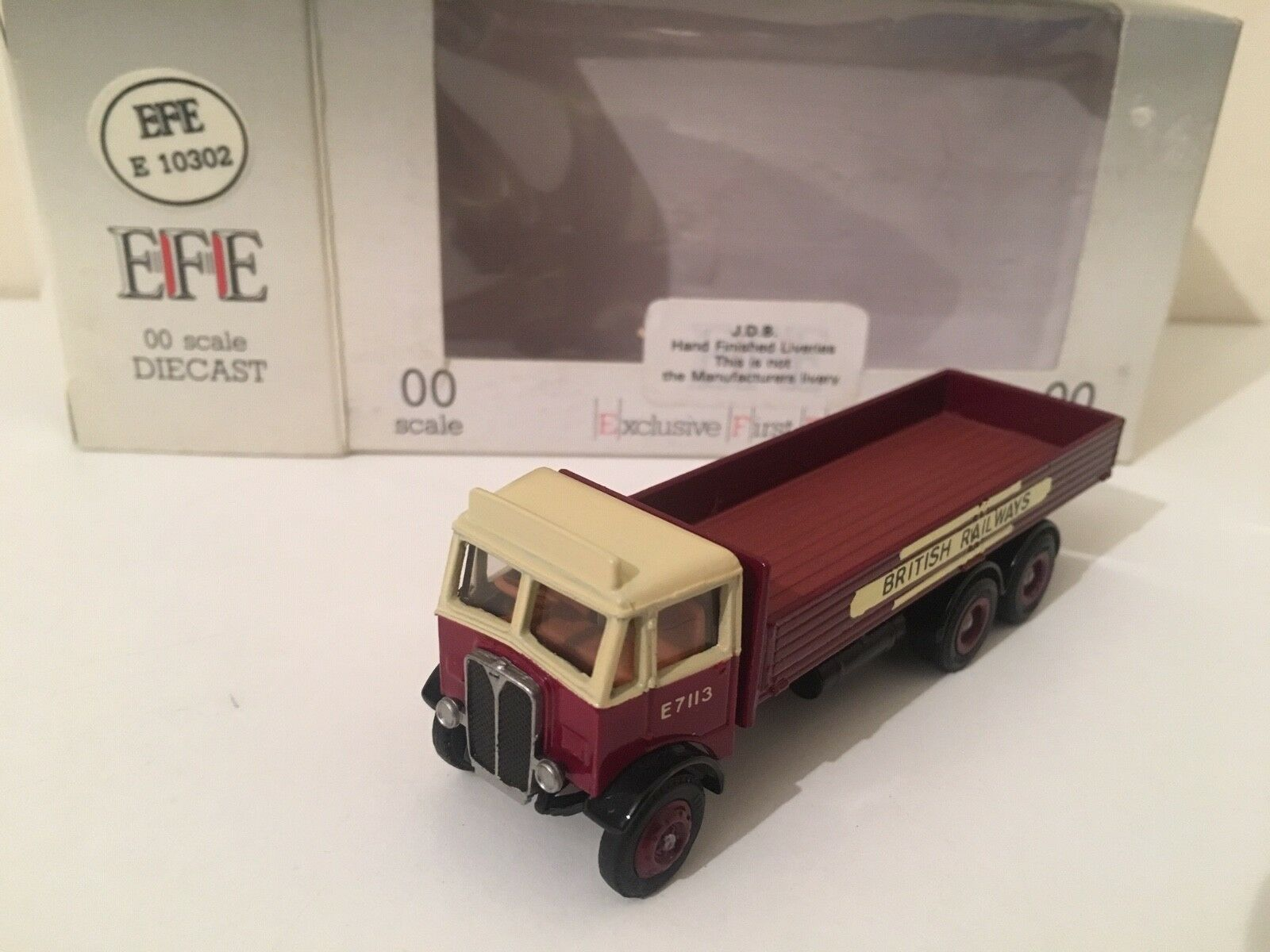 EFE '00' CODE 3 J.D.B. Livery – AEC Mammoth Major 3 Axle Dropside Lorry