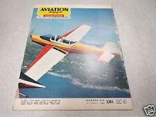 AVIATION MAGAZINE N° 416 1965 Parachutistes Skieurs Soufflerie Eiffel Voltige *