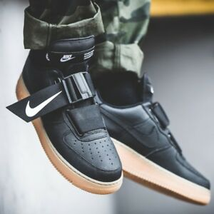 Nike Air Force 1 Low Black On Feet harley davidson london.co.uk
