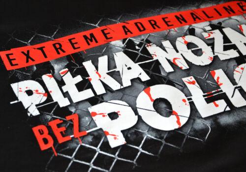 Sweatshirt Hoodie Bluza Poland Hooligans Ultras Tifo Football Fans Logo Black