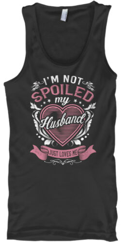 Im pas gâté mon mari-Je suis juste m/'aime Male Tank Top