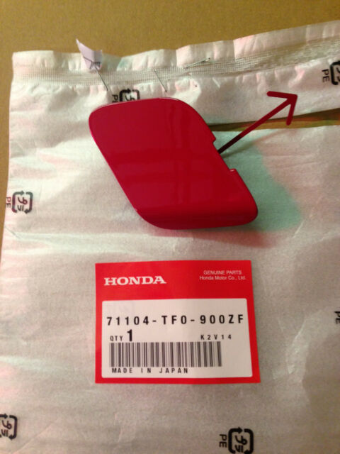 GENUINE HONDA JAZZ FRONT BUMPER TOW EYE COVER 2011-2013 *ALL COLOURS*