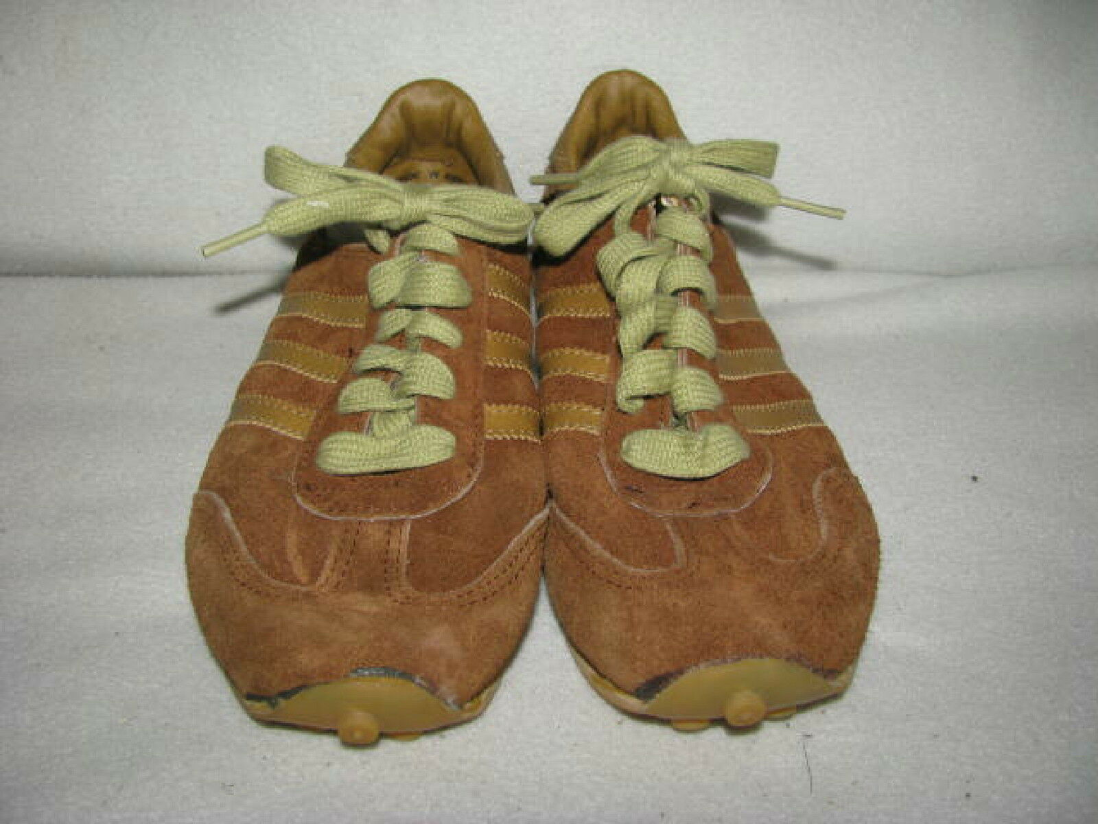 Vintage Adidas  Uomo Sz Suede 6 USA Olympics Braun Suede Sz Sneakers Schuhes JC Penny 705138