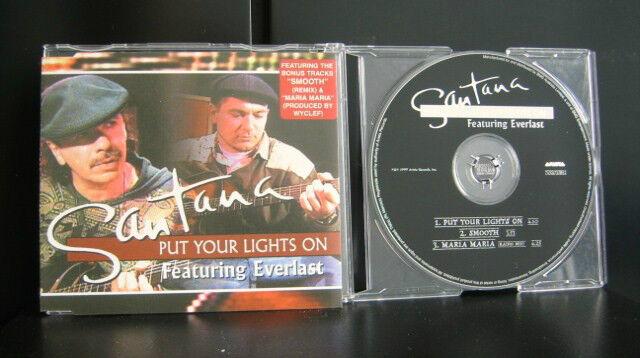 Santana - Put Your Lights On 3 Track CD Single
