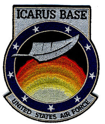 Stargate Universe Icarus Base United States Air Force 11.5cm Embroidered Badge