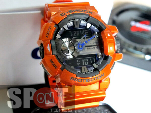 24754a623c7 Watch G Shock GBA 400 4b GMIX Bluetooth Smart Man 55 Mm Resin for sale  online