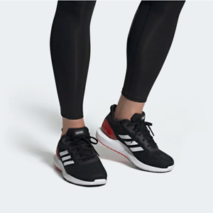 Details about Adidas Mens Cosmic 2 Running Shoes Sport Gym Black/Red EE8180 UK 6.5 to 12