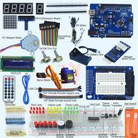 Elementary UNO R3 Starter Kit for Arduino 1602 LCD Servo Motor LED Infrared NEW