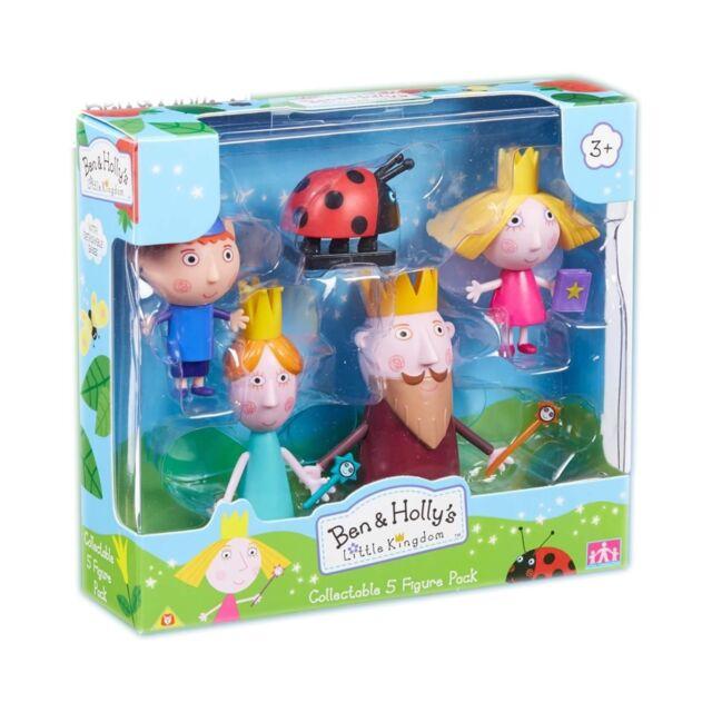Ben & Holly Pack 5 Figuras Coleccionable Articulado Personajes Juguete