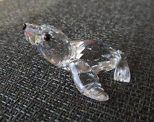 Swarovski Crystal Baby Sea Lion AQUATIC WORLDS  Retired & Signed