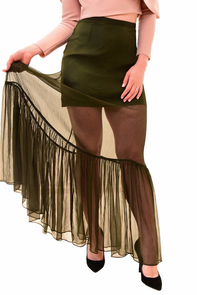 Keepsake Women's  All Rise Skirt Khaki S RRP  BCF79