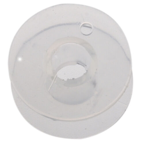 25 Clear Plastic Sewing Machine Bobbins Fits Singer Brother Janome Toyota A1Y U8