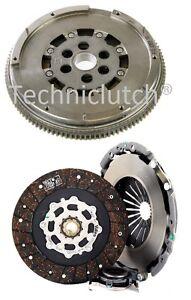 LUK-Volant-moteur-bimasse-DMF-et-Kit-d-039-em-brayage-pour-Fiat-Stilo-1-9-JTD