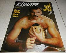 EQUIPE MAGAZINE N°353 1988 RUGBY RODRIGUEZ FOUROUX TENNIS McENROE DUCHESNAY