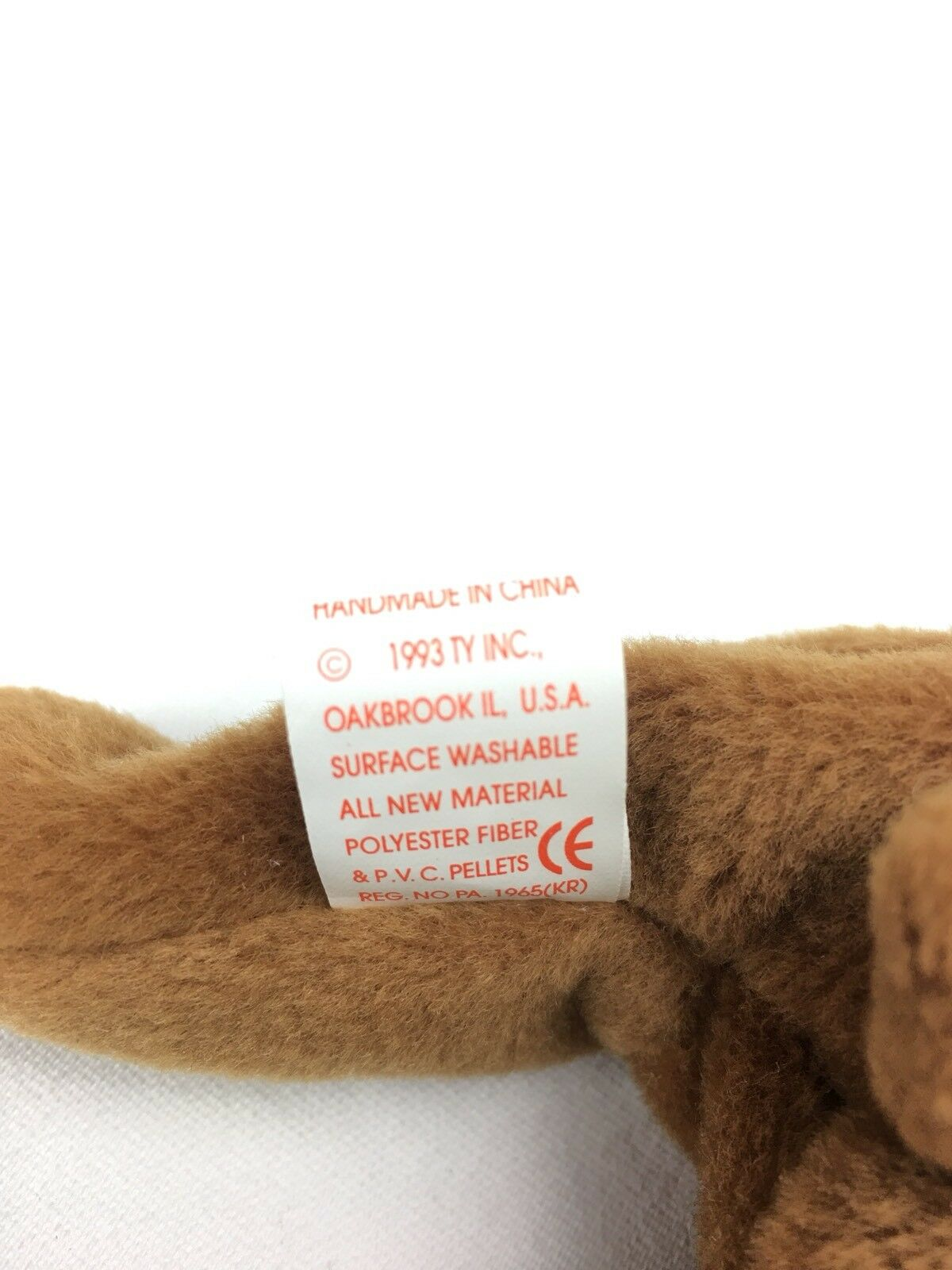 Ty Beanie Beanie Beanie Babies Cubbie 4010 Brown Bear Plush Toy Stuffed Animal PVC Pellets 4eef18