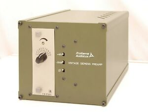 Details about ProItems AudioLux Siemens/ WSW Preamp Neve 1073 Killer w Video