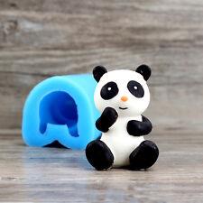 3D Panda Silicone Soap Molds Chocolate Mould Baking Cake Decorating Ice Cream