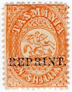 I-B-Australia-Tasmania-Revenue-Stamp-Duty-10-1889-Reprint