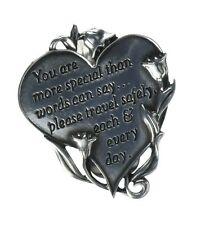 Cathedral Art KVC320 Heart Visor Clip Sister 2-3//4-Inch