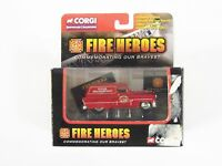 Corgi Fire Heroes 1953 Pontiac Van Newark Fire Department Cs90014