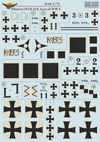 Print Scale 1/72 Albatros D.I & D.II Aces of WWI # 72235