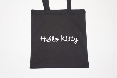 Tote Natural Cotton Shopper Bag Gym Shopping Beach Hello Kitty