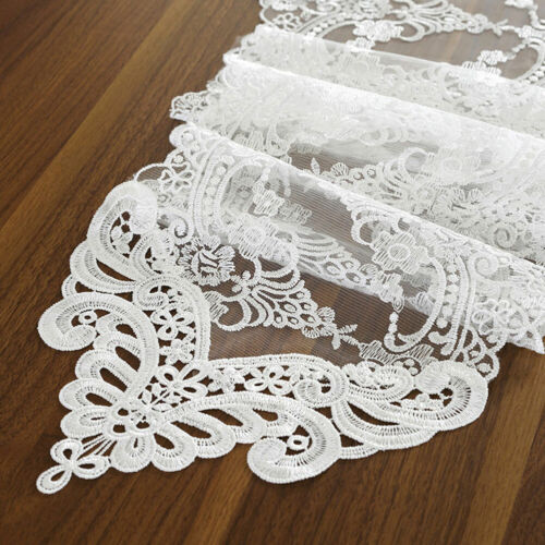 Antique Table Runner Lace Embroidered Rectangle Table Runners Party Supplies