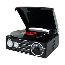 Jensen  Audio 3 Speed Stereo Turntable With Am/Fm Stereo Radio, Pitch Control