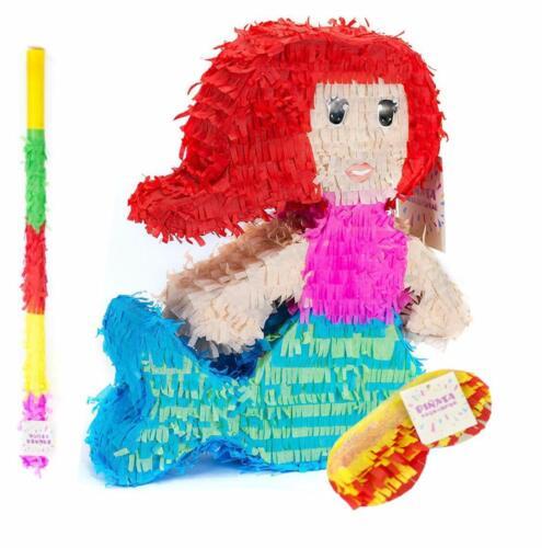 Pinata Set Meerjungfrau Party Dekoration Pinjatta Kinder Geburtstag Spiel