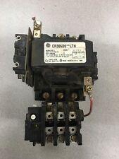 Used General Electric Size 2 Motor Starter 110 120v Coil Cr306d0lth